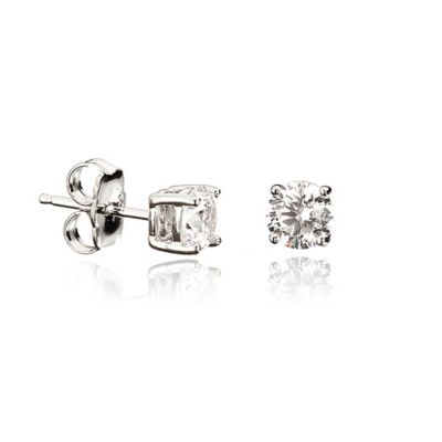 1 Cttw Stud Earrings