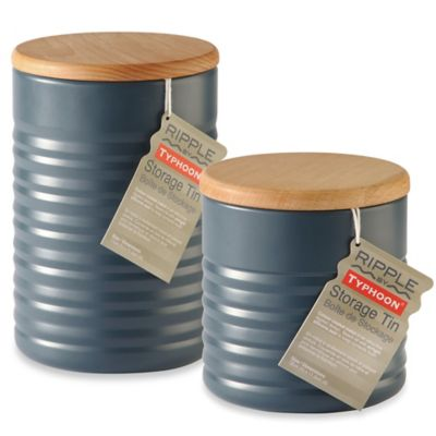 Typhoon® Ripple Small Canister in Slate