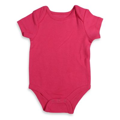 Mayfair Infants Wear 12M Girl's Short-Sleeve Bodysuit in Pink