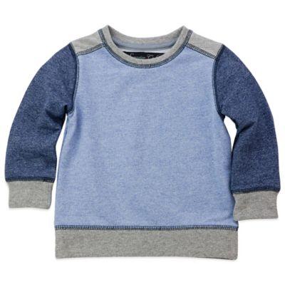 Sovereign Code™ Size 24M Hartford Color Block Sweatshirt in Blue/Grey
