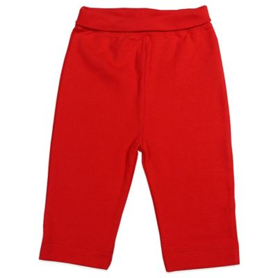 Mayfair Infants Wear Size 3-6M Unisex Cotton Pant in Red