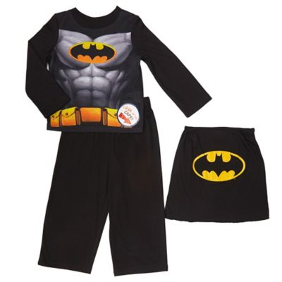 Batman 2-Piece Size 2T PJ Set with Detachable Cape