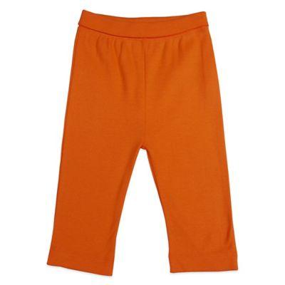 Mayfair Infants Wear Size 0-3M Unisex Cotton Pant in Orange