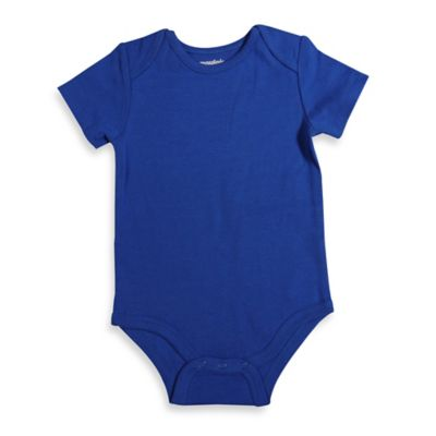 Size 12M Short-Sleeve Bodysuit in Royal Blue