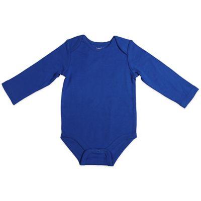 Size 12M Long-Sleeve Bodysuit in Royal Blue