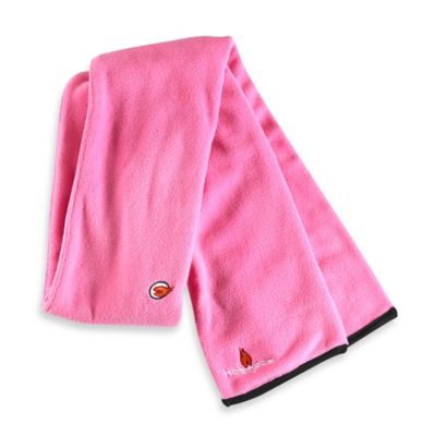 Pink Fleece Scarf