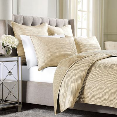 Wamsutta® Serenity Full/Queen Coverlet in Gold