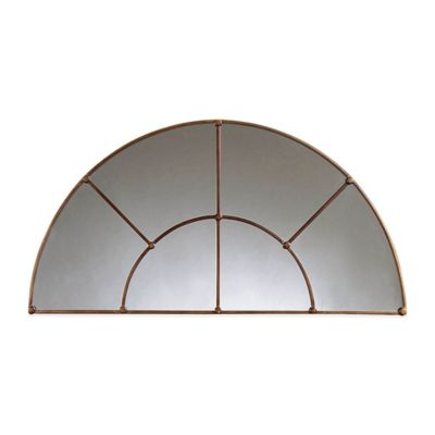 Bassett Mirror Company Isabelle Arched Mirror in Bronze