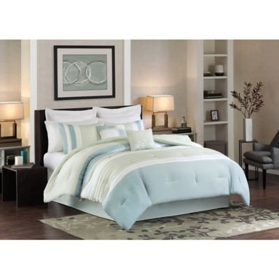 Beechwood 8-Piece California King Comforter Set