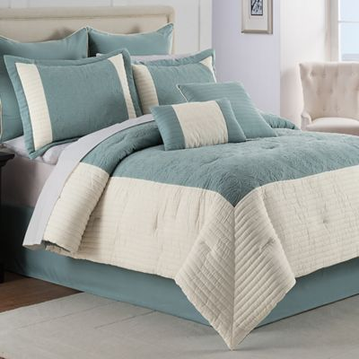 Hathaway 8-Piece Queen Comforter Set