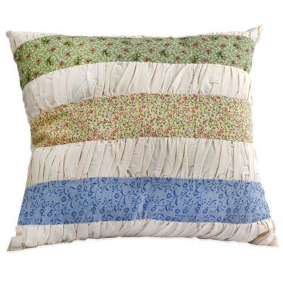 Nostalgia Home™ Kimberly Shirred Square Throw Pillow
