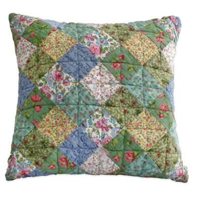 Nostalgia Home™ Kimberly Patchwork Square Throw Pillow
