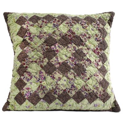 Nostalgia Home™ Kent Piecework Square Throw Pillow