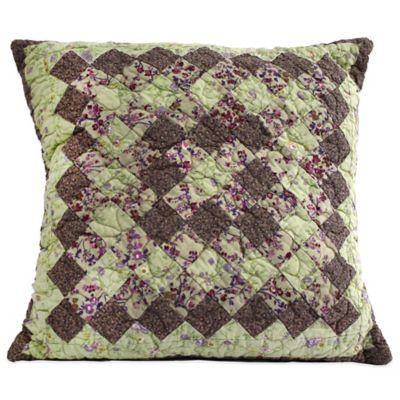 Nostalgia Home™ Kent Piecework Square Throw Pillow