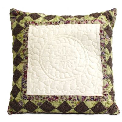 Nostalgia Home™ Kent Medallion Square Decorative Pillow