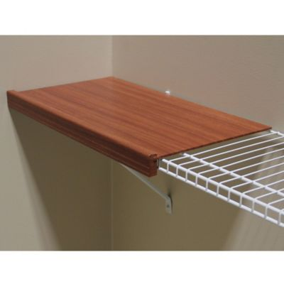 John Louis Renew 24-Inch Wire Shelf Cover in Espresso