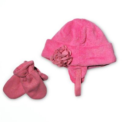 Pink Hats & Mittens