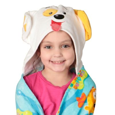 Nickelodeon™ Bubble Guppies Bubble Puppy Toddler Hooded Towel