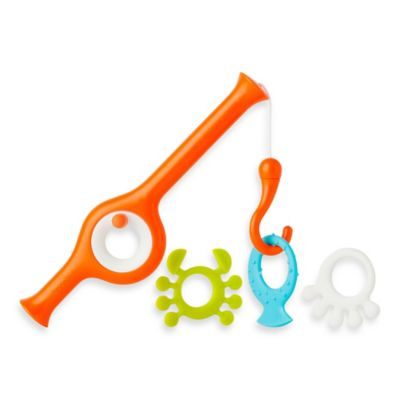 Boon® CAST Fishing Pole Bath Toy in Orange/Multi