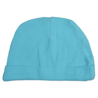 Mayfair Infants Wear Newborn Fitted Cap in Aqua