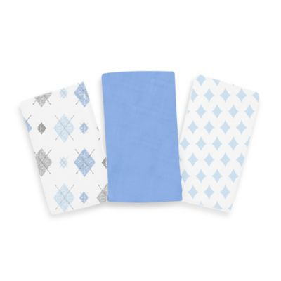 SwaddleMe® 3-Pack Cloud™ Blanket in Argyle