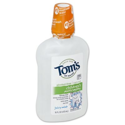 Tom's of Maine® 16 oz. Anticavity Mouthwash in Juicy Mint