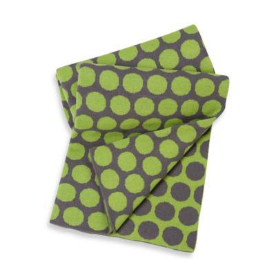 Baby Blankets > Sumersault Cotton Dot Print Stroller Blanket in Multi