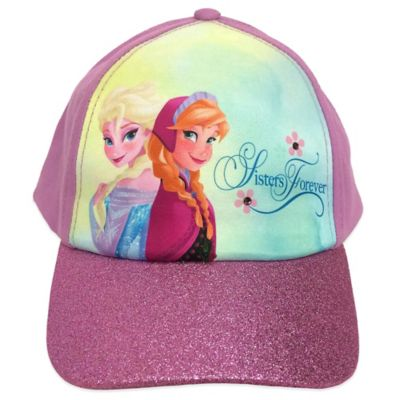 "Disney® ""Frozen"" Logo Baseball Cap in Purple"