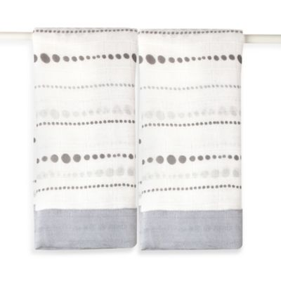 aden + anais® Moonlight Bead Isse Security Blanket (Set of 2)