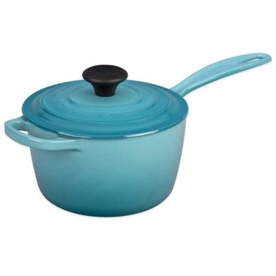 Le Creuset® Signature 1.75 qt. Covered Saucepan in Caribbean