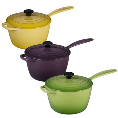 Le Creuset® Signature 3.25 qt. Covered Saucepan in Dune