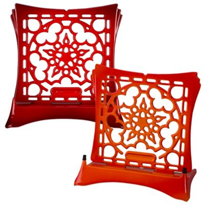 Red Cookbook Holders