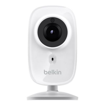 Belkin WeMo NetCam HD+ Night Vision Wi-Fi Camera