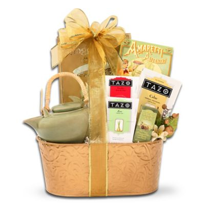 Holiday Tea Time Gift Basket by Alder Creek Gift Baskets