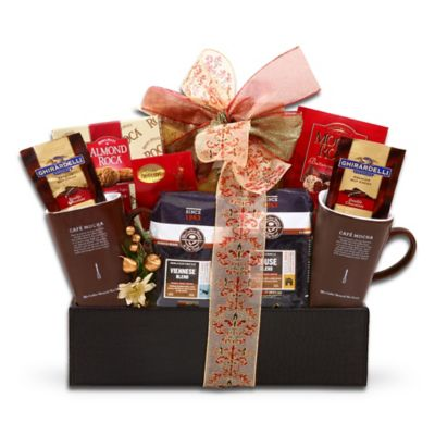 The Coffee Bean & Tea Leaf Treats by the Fire Gift Basket