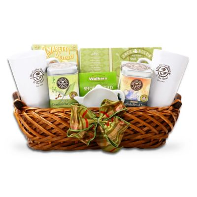 Coffee Bean and Tea Leaf Morning Gift Basket