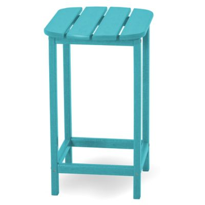 POLYWOOD® South Beach 26-Inch Counter Side Table in Aruba