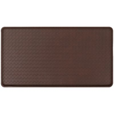 GelPro® Basketweave 20-Inch x 72-Inch Cushion Mat in Chestnut