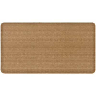 GelPro® Classic 20-Inch x 48-Inch Seagrass Floor Mat in Fox Brown