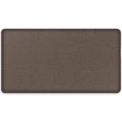GelPro® Classic 20-Inch x 36-Inch Natural Weave Floor Mat in Espresso