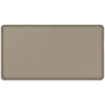 GelPro® Classic 20-Inch x 36-Inch Natural Weave Floor Mat in Wheat