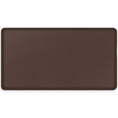 GelPro® Classic 20-Inch x 36-Inch Natural Weave Floor Mat in Mahogany