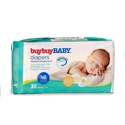 buybuyBaby™ 36-Count Size Newborn Jumbo Pack Diapers