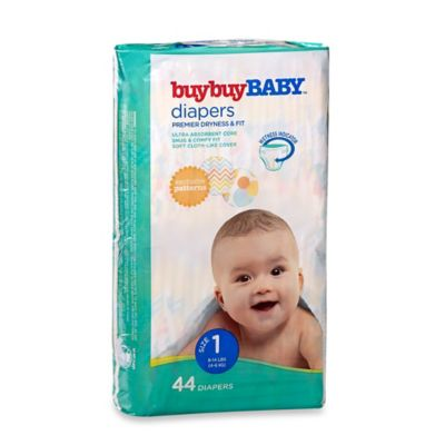 buybuyBaby™ 44-Count Size 1 Jumbo Pack Diapers