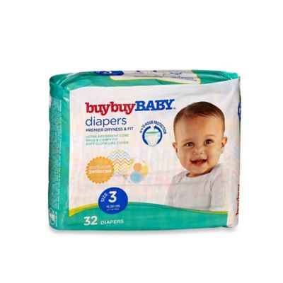buybuy BABY™ 32-Count Size 3 Jumbo Pack Diapers