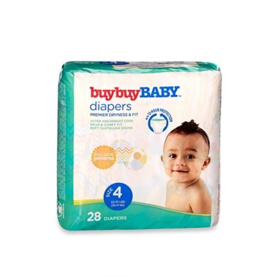 buybuy BABY™ 28-Count Size 4 Jumbo Pack Diapers