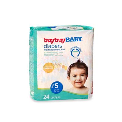 buybuy BABY™ 24-Count Size 5 Jumbo Pack Diapers