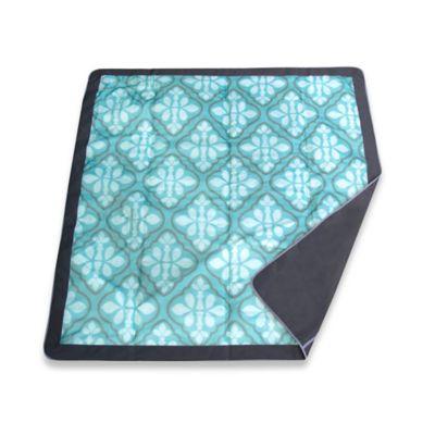 Blue Outdoor Blanket