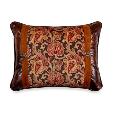 Austin Paisley Throw Pillow
