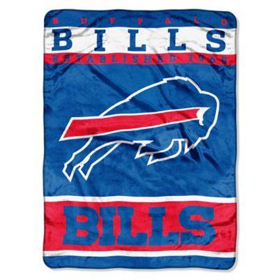 NFL Buffalo Bills Strike Raschel Oversized Throw Blanket